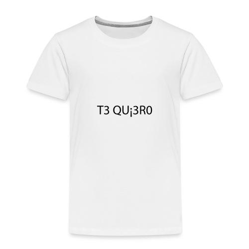 Te Quiero - T-shirt Premium Enfant