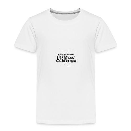 Blick auf die Sterne - Kinder Premium T-Shirt