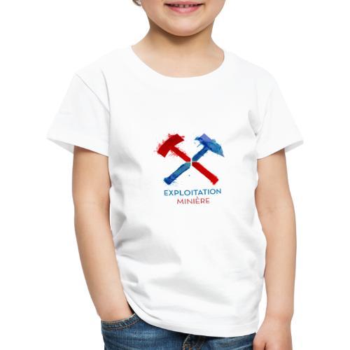 Exloitation Minère - T-shirt Premium Enfant