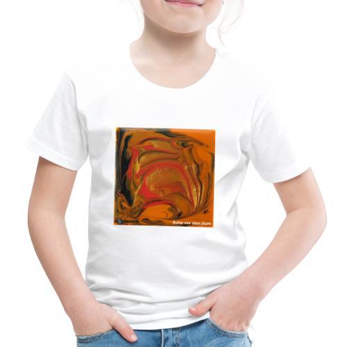 TIAN GREEN Mosaik DK040 - Ruhe vor dem Sturm - Kinder Premium T-Shirt