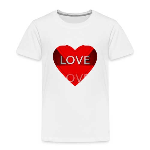 Love Pliz Corazón TM - Camiseta premium niño