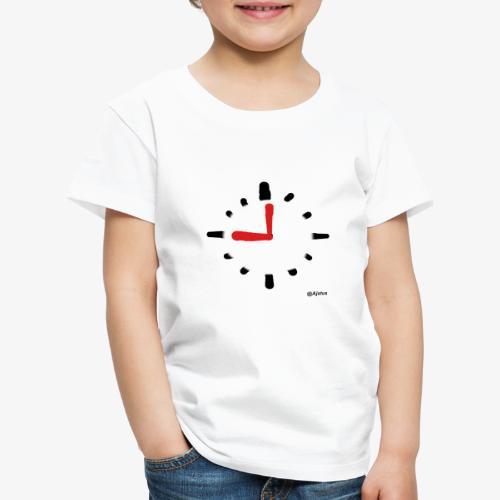 Kello - Lasten premium t-paita