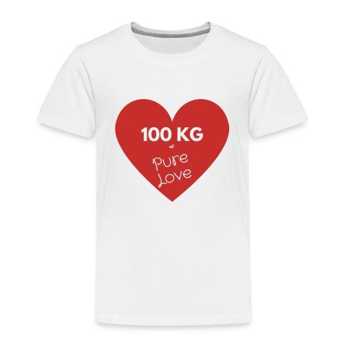 100 kg of pure love - Kids' Premium T-Shirt
