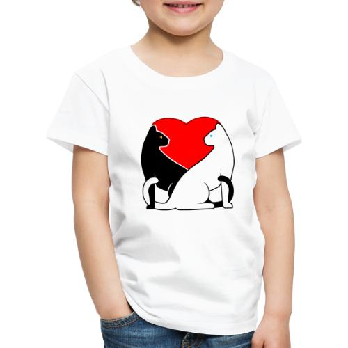 Cats in Love - Kids' Premium T-Shirt