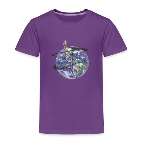 homme terre expression - T-shirt Premium Enfant