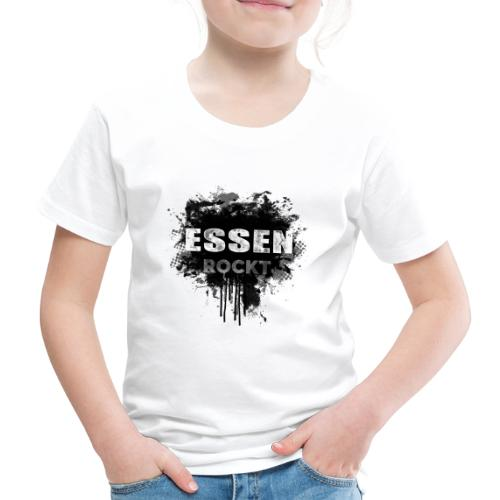 ESSEN ROCKT IN DIRTY BLACK - Kinder Premium T-Shirt