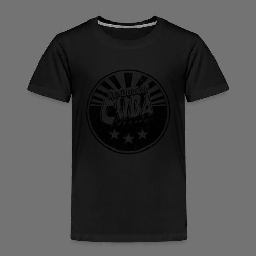 Cuba Libre (1c black) - Kinder Premium T-Shirt