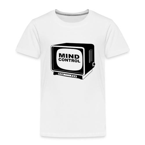 Mind Control Fernseher - Kinder Premium T-Shirt