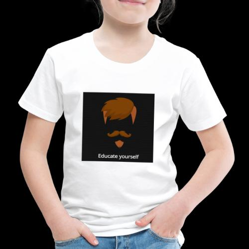 educate yourself - Kids' Premium T-Shirt