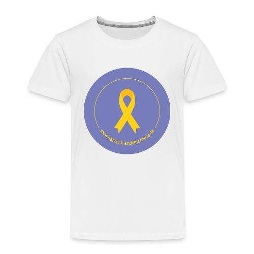 LOGO EndometrioseNetzwerk - Kinder Premium T-Shirt