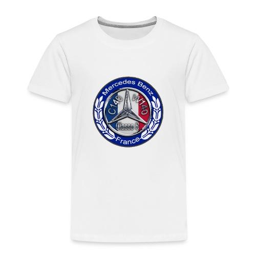 Logo Officiel Assos : MB Classe S W140 C140 France - T-shirt Premium Enfant