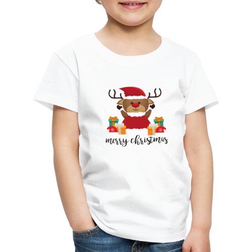 Merry Christmas - Kinder Premium T-Shirt