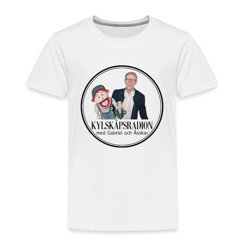 Kylskåpsradions logga - Premium-T-shirt barn