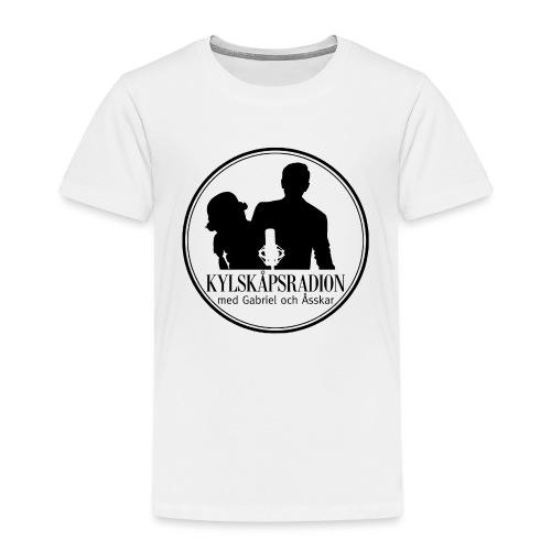 Logga helsvart - Premium-T-shirt barn