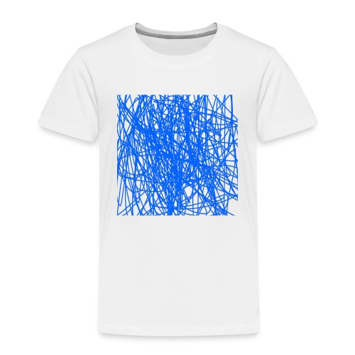 Blue lines - Premium-T-shirt barn