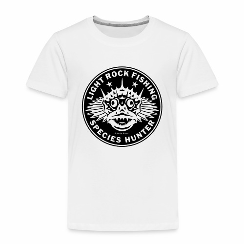 LRF Species hunter Logo 01 - Kinderen Premium T-shirt