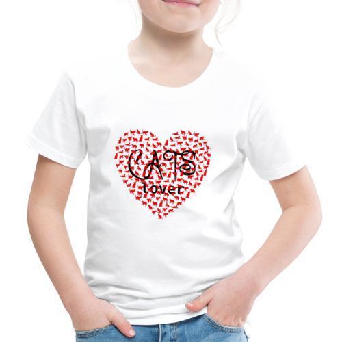 cats lover - Kinder Premium T-Shirt