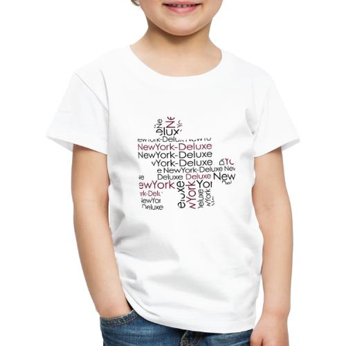 New York Deluxe Puzzle Motiv - Kinder Premium T-Shirt
