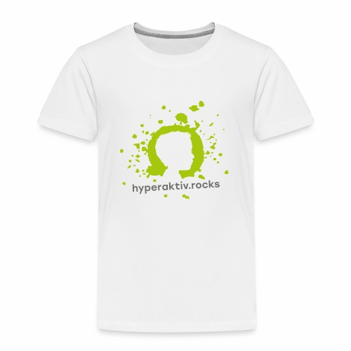 hyperaktiv.rocks Logo - Kinder Premium T-Shirt