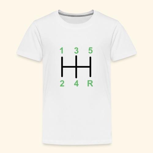 Palanaca de cambios en H. - Camiseta premium niño