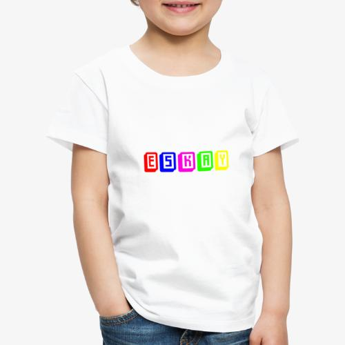 Eskay Mahjong-Format - Kinder Premium T-Shirt