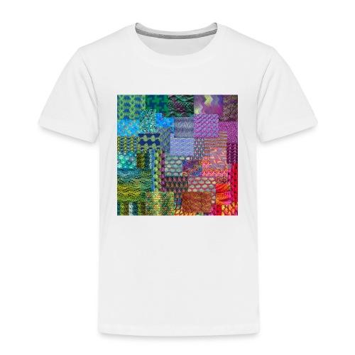 Knitting a rainbow - Premium-T-shirt barn