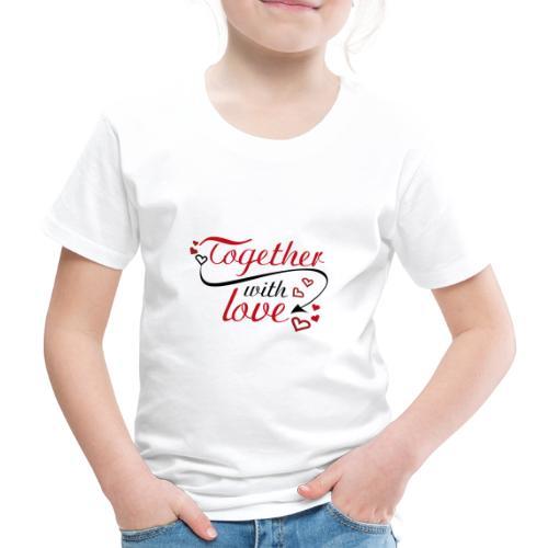 auguri San Valentino 01 - Maglietta Premium per bambini