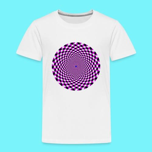 Mandala figure from rhombus shapes - Kids' Premium T-Shirt
