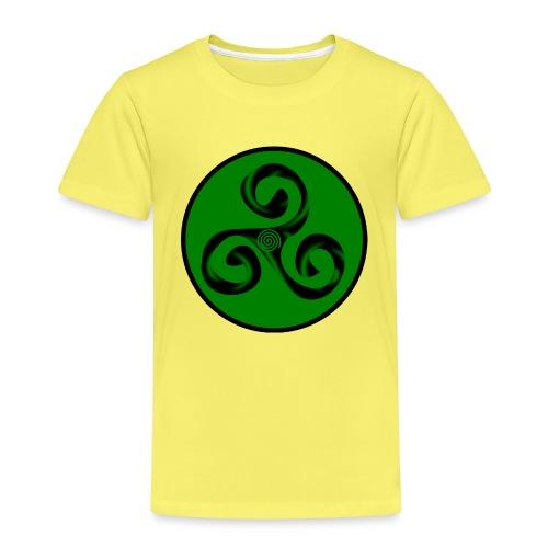 Triskel and Spiral - Camiseta premium niño
