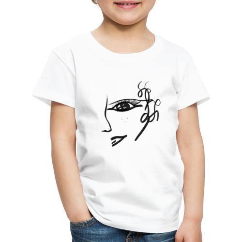 Gesicht - Kinder Premium T-Shirt