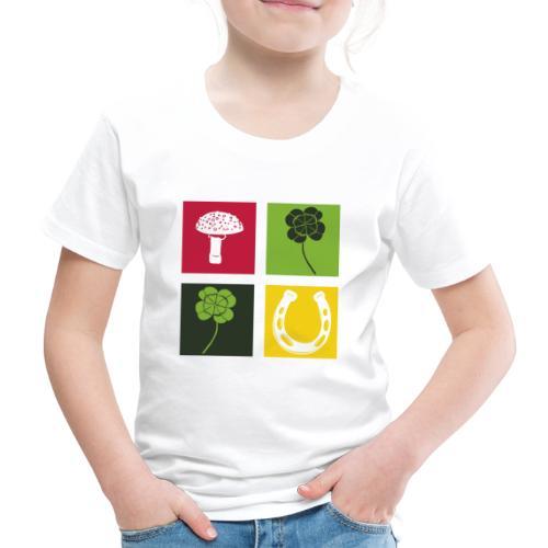 Just my luck Glück - Kinder Premium T-Shirt