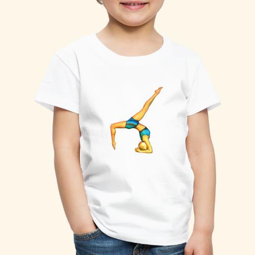 YOGA DONNE ASANA 10 - Maglietta Premium per bambini