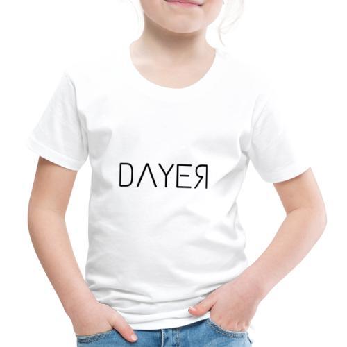 DAYER - Maglietta Premium per bambini