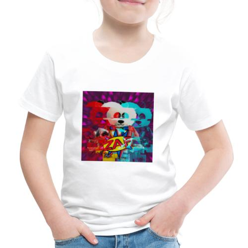Panda with zap gun - Kids' Premium T-Shirt