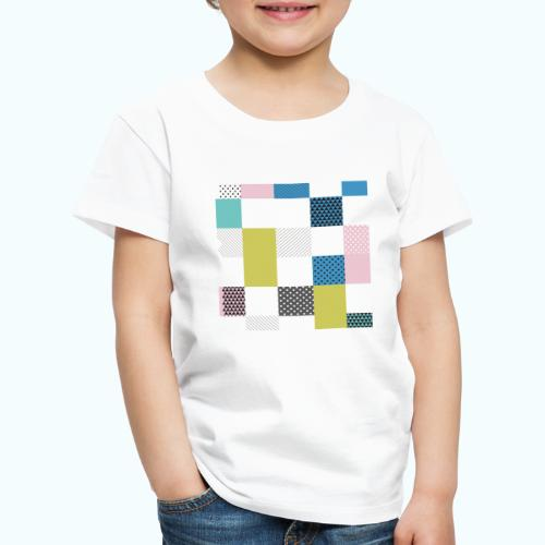 Abstract art squares - Kids' Premium T-Shirt