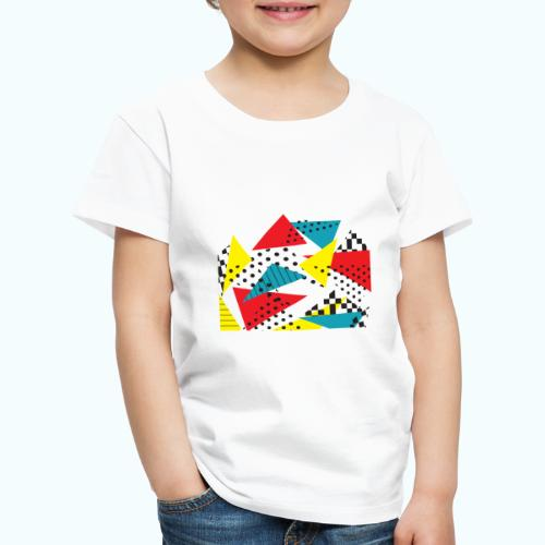 Abstract vintage collage - Kids' Premium T-Shirt