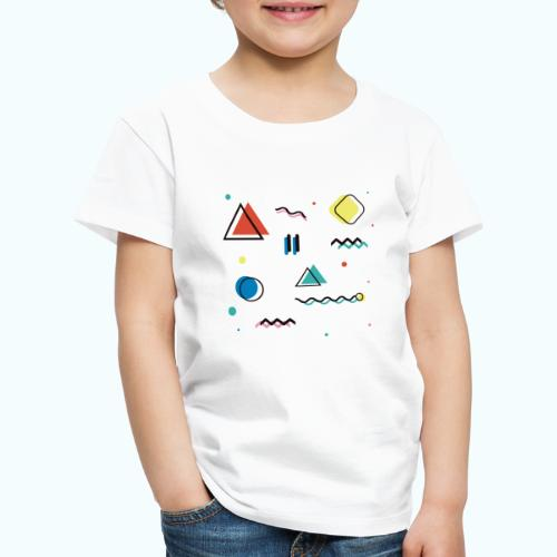 Abstract geometry - Kids' Premium T-Shirt