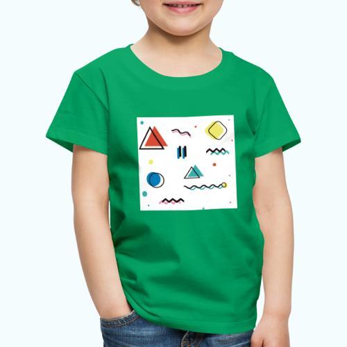 Abstract geometry - Kids' Premium T-Shirt