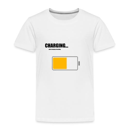 Charging - Kinder Premium T-Shirt