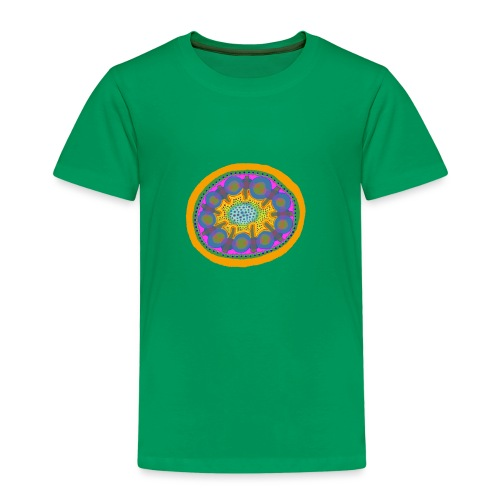 Mandala Pizza - Kids' Premium T-Shirt