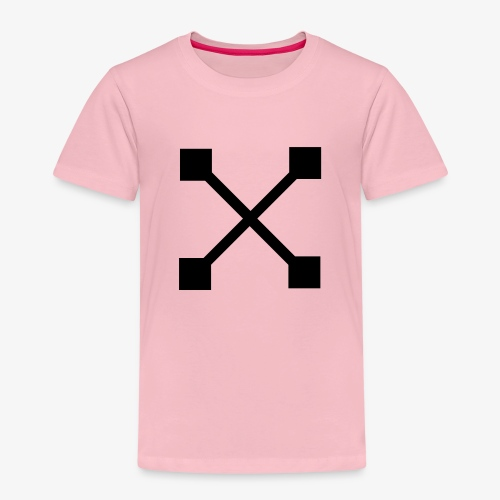 X BLK - Kinder Premium T-Shirt