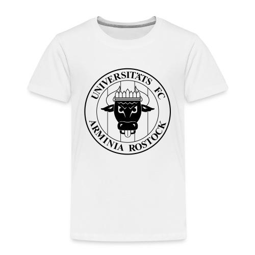 UFC Logo nur schwarz - Kinder Premium T-Shirt