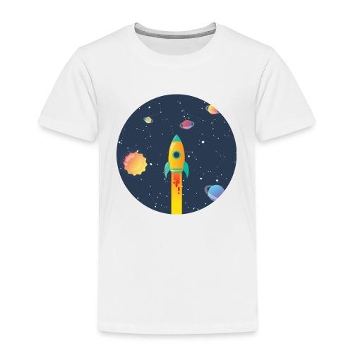 Spaceship travel - Maglietta Premium per bambini