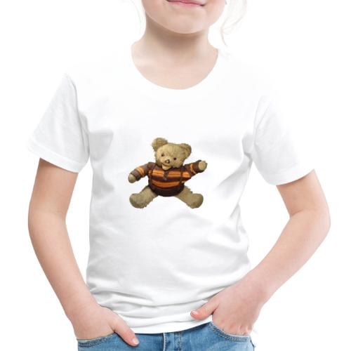 Teddybär - orange braun - Retro Vintage - Bär - Kinder Premium T-Shirt