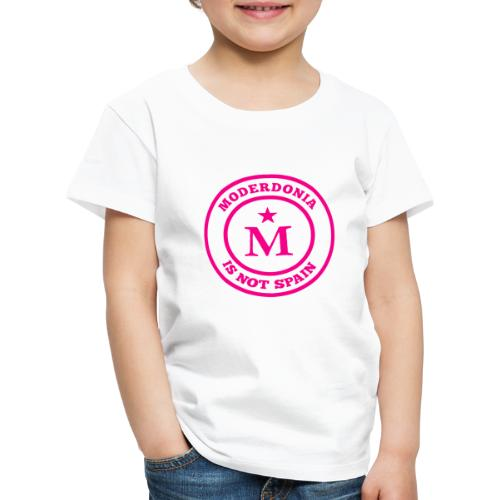 Moderdonia is not Spain rosa - Camiseta premium niño