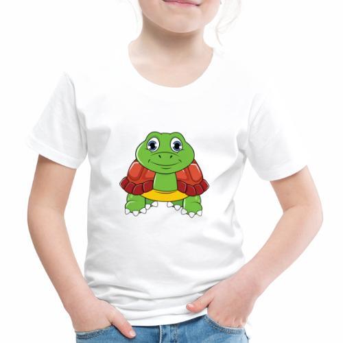 Niedliche Schildkröte - Kinder Premium T-Shirt
