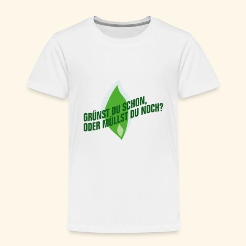 Gruenst Du Schon - Kinder Premium T-Shirt