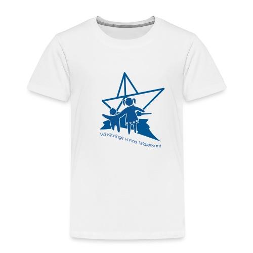 W i i Kinnings vonne Waterkant - Kinder Premium T-Shirt