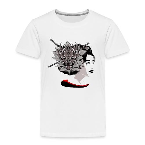 Warrior Flower - Kinderen Premium T-shirt