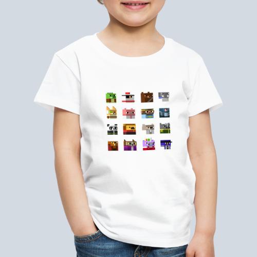 A Planet of Mine Animals - T-shirt Premium Enfant